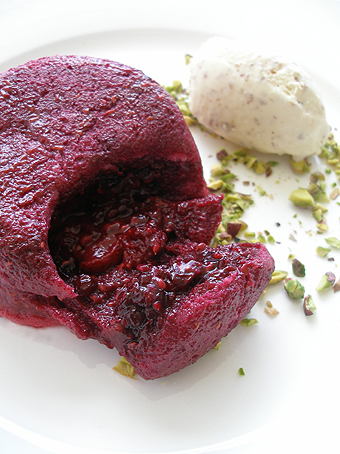 Summer pudding devoured